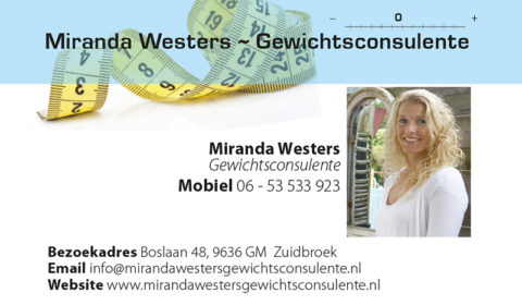 Visitekaartje Miranda Westers.indd