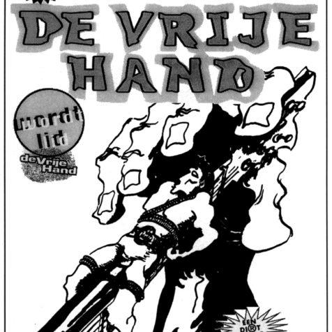 Poster Vrije Hand